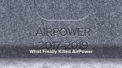 """为什么苹果要 """"杀死"""" AirPower?"""