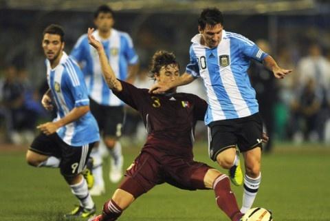 南美洲那支球队没梅西的叫阿根廷队,有梅西的就叫中国队