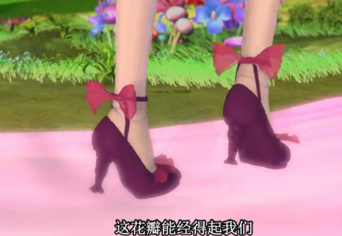 在《精灵梦叶罗丽》这部动画片中,优美的叶罗丽仙子是非常受到人