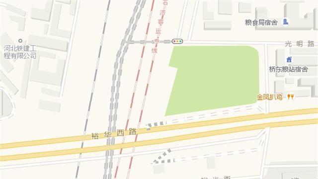 石家庄胜利大街跨裕华路桥今起开始施工 交通组织有变