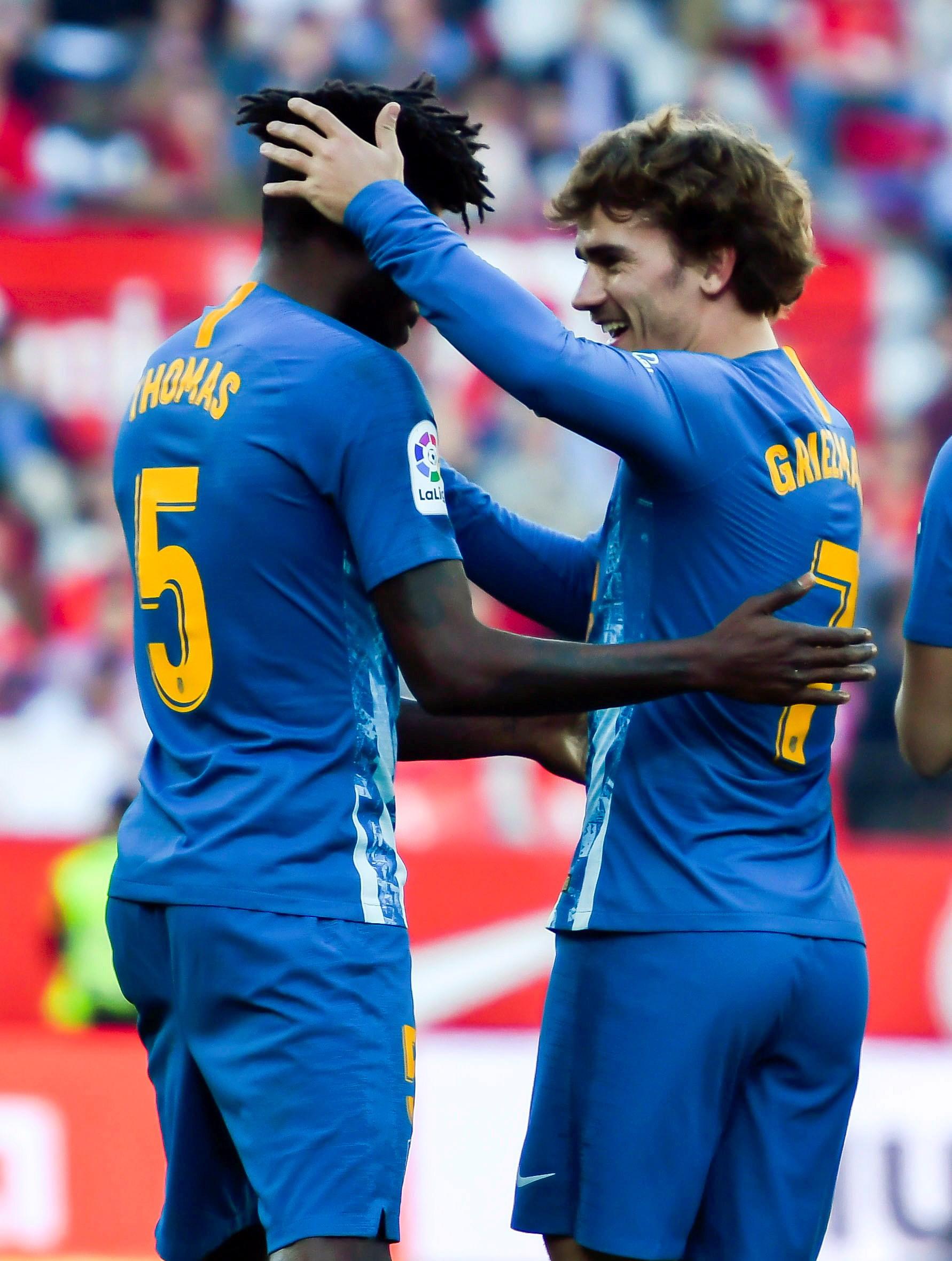 足球--西甲联赛:马竞战平塞维利亚