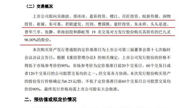 """深交所火速问询全通教育:收购巴九灵是否为""""忽悠式""""重组"""