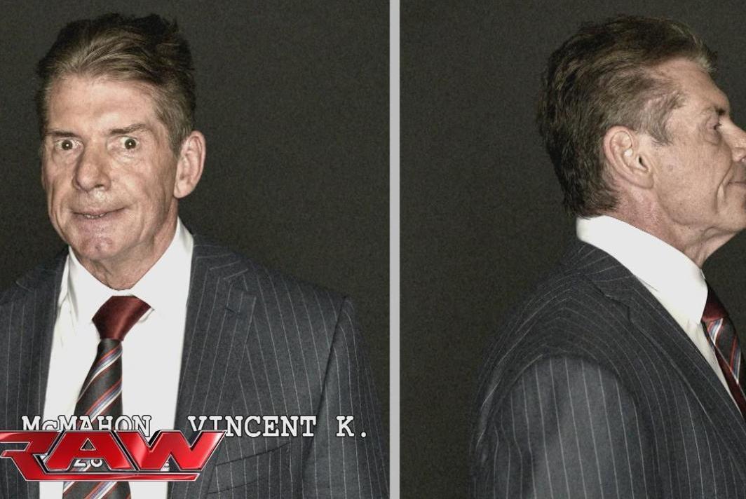 你们见过WWE巨星们被抓时的囧样吗?个个失魂落魄,哪还像个明星