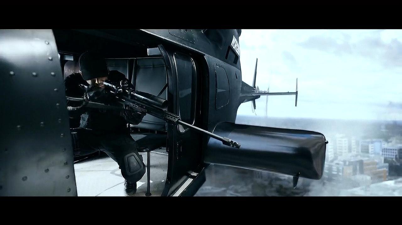 《天使陷落》美国最新动作犯罪电影,总统遭遇无人机追杀,真惨烈