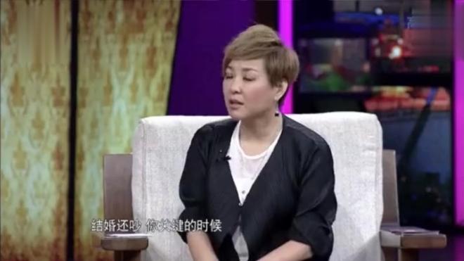 曹颖自爆结婚当天和老公吵架,没有婚礼没有求婚,稀里糊涂结婚了