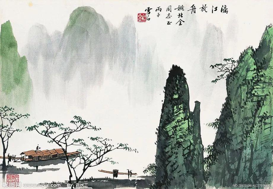 早安诗歌 《春夜宴从弟桃花园序》(唐)李白