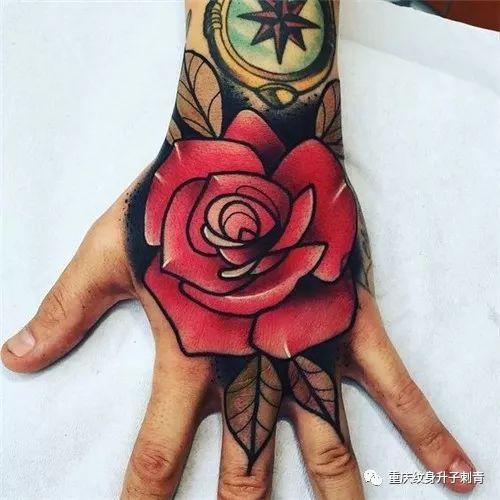 个性时尚手背纹身图案