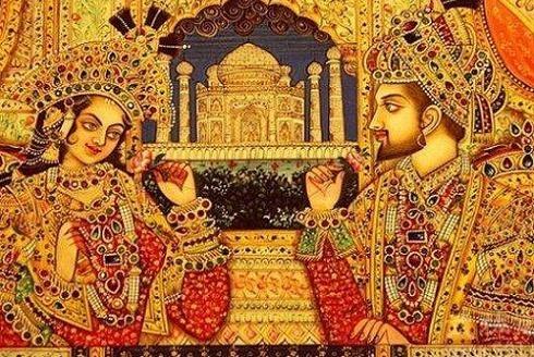 她是印度绝色皇后,一生独宠,婚后18年为皇帝生下14个子女