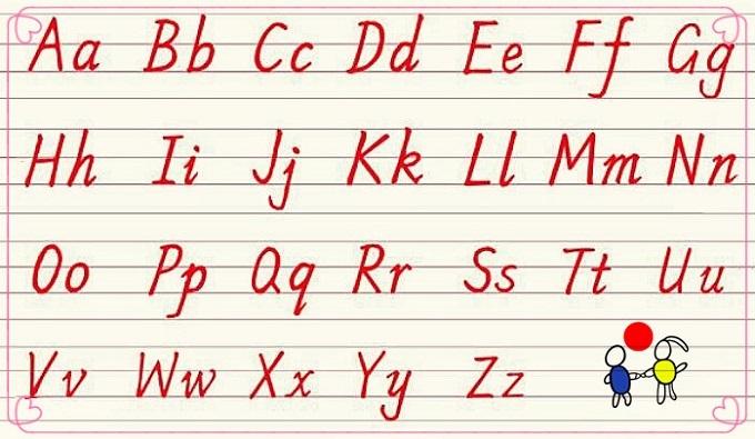 26個英文字母的書寫規范:筆順 音標 技巧圖片