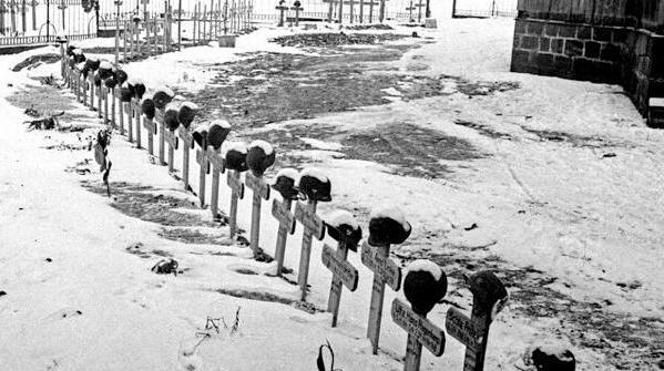 二战德军之墓:死得早是种幸运