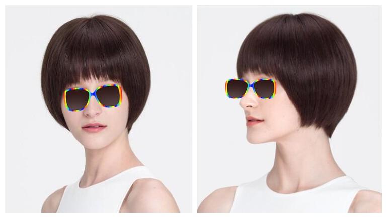 瓜子脸,发质硬度一般 经典短发,也是女人们的最爱啊,特别是40~50岁的