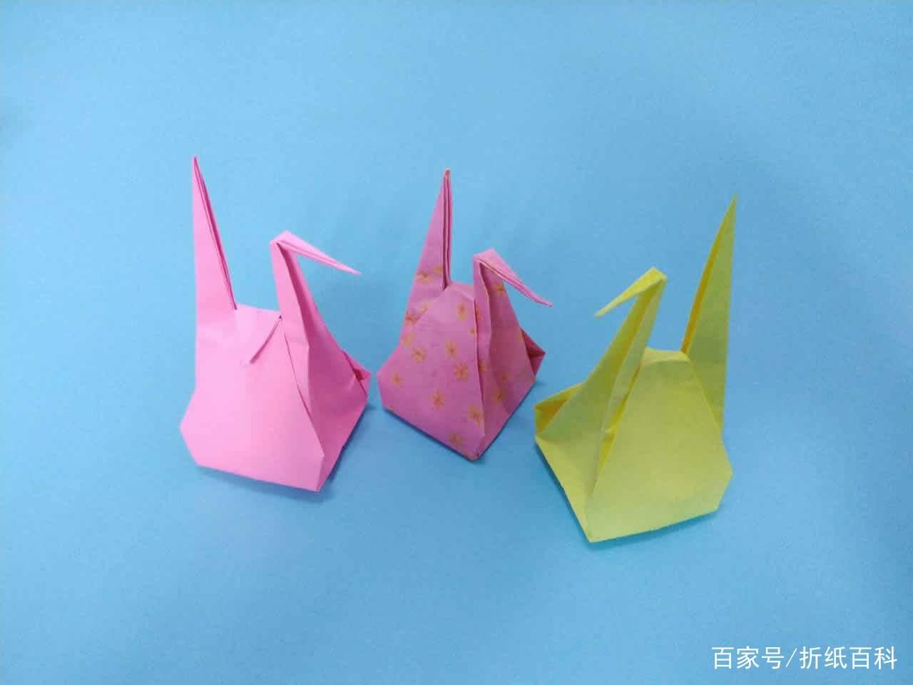 漂亮的千纸鹤收纳盒折纸,简单几步就做好,手工diy折纸