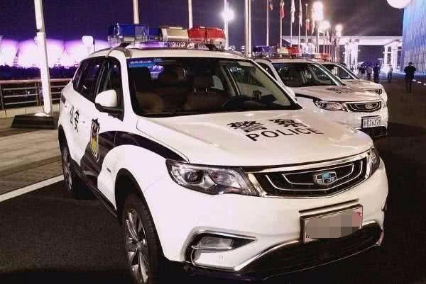 """中国警车""""大换血"""",捷达普桑全被淘汰,网友:还是新车霸气"""