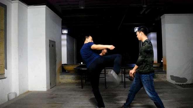 人人都会的防身术-腿法练习