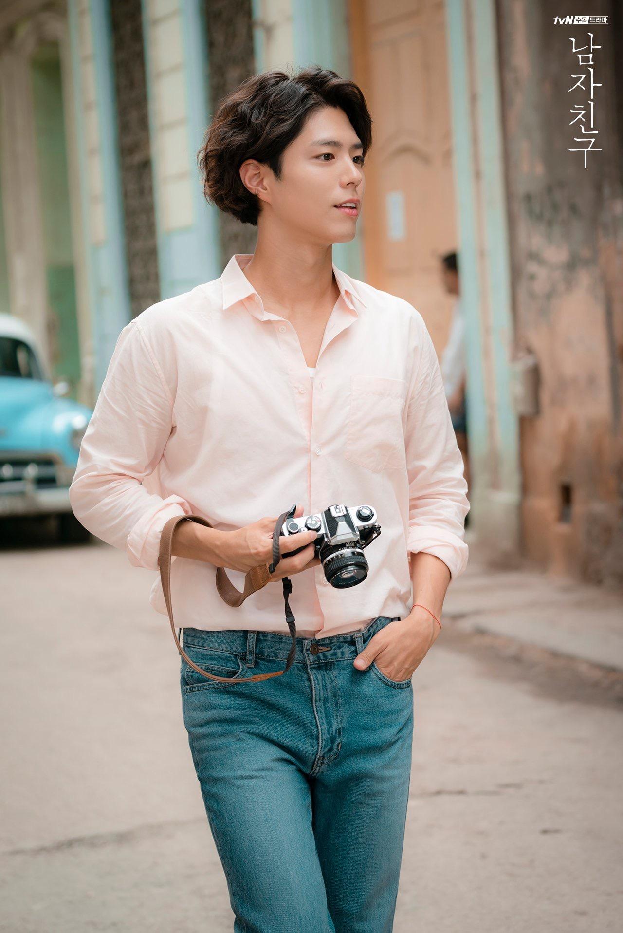 韩剧《男朋友》朴宝剑剧照公开:温润腼腆,暖暖的男友