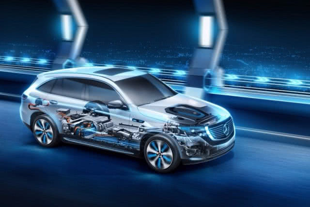 奔驰正式叫板特斯拉,纯电动SUV即将上海车展首秀,续航460km