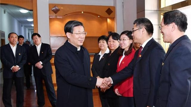 王东峰在石家庄市调研检查大中小学思想政治理论课教育工作