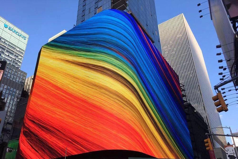 """""""中国屏""""在纽约时代广场上的诉讼战:""""337调查""""大棒抡空了"""