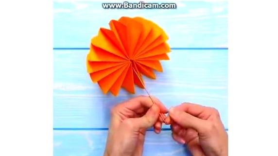 折纸手工课开课啦!教你叠各种扇子,玫瑰花,书签