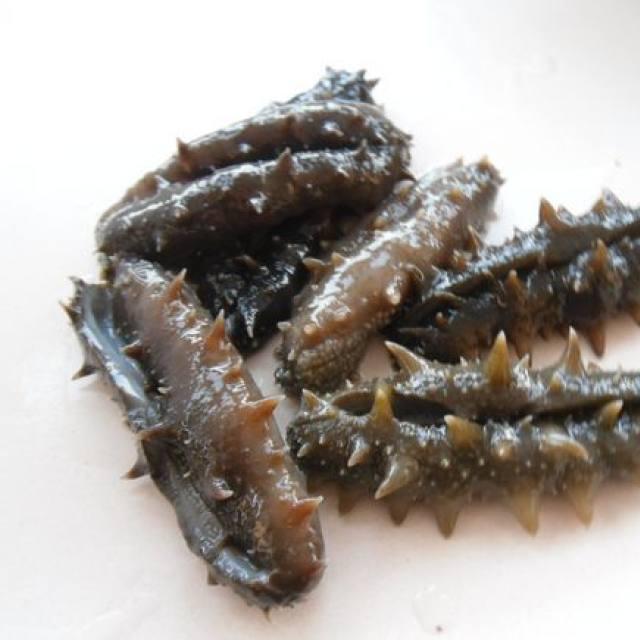 葱烧大蒜,表面放过,海参简单,连汤汁都不丰富做法放久紫色营养图片