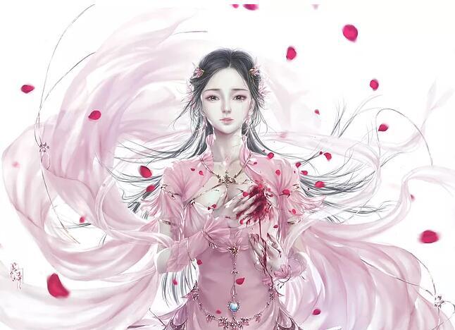 古风手绘倾城佳人壁纸:我能够做你的公主殿下吗?九州