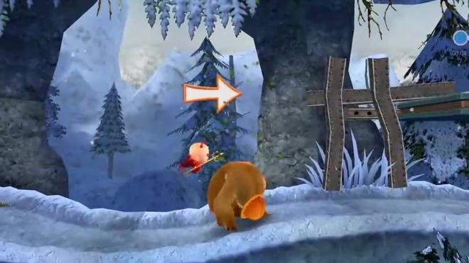 熊出没之丛林总动员 雪岭熊风大冒险 游戏