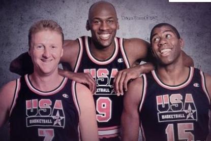 当年的梦一队可以吊打现在的任何一个NBA球队一点也不为过