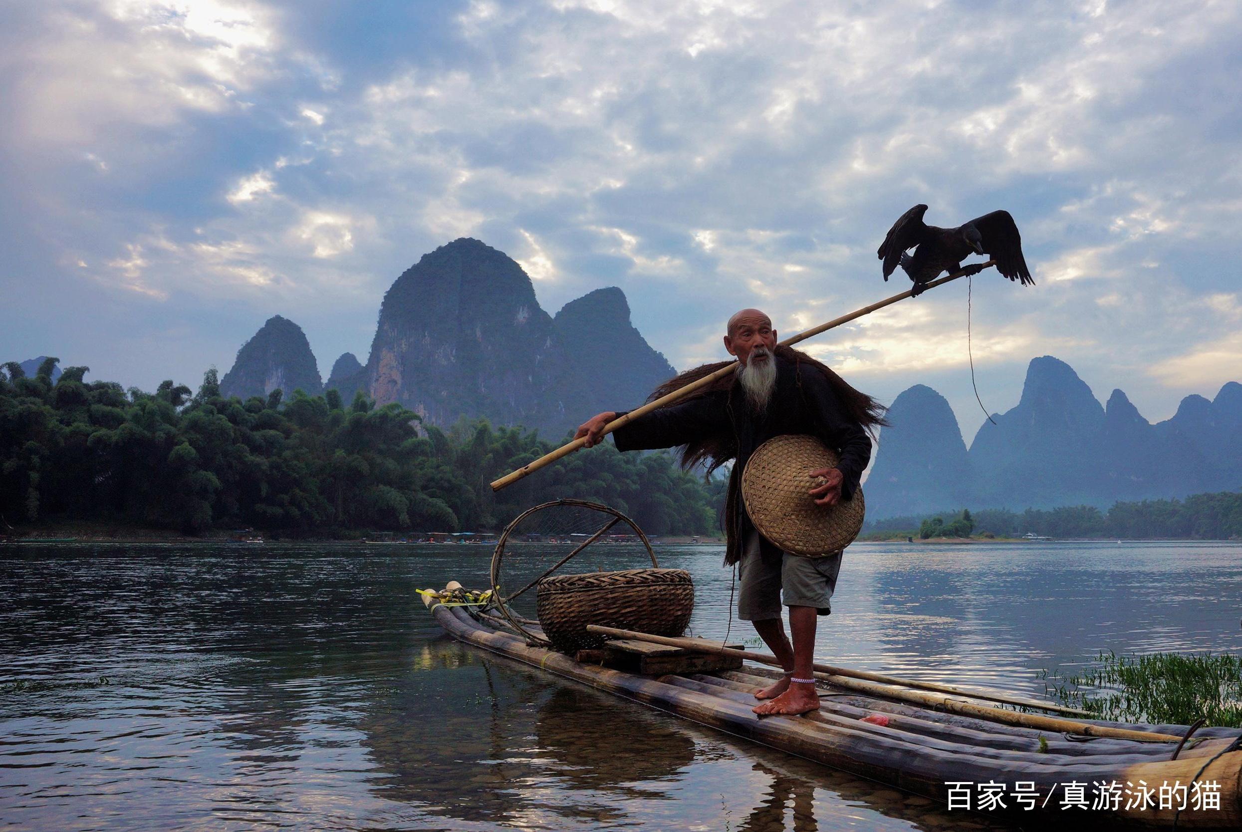 描写渔翁的5首古诗词,堪称千古名篇,赶紧背下来