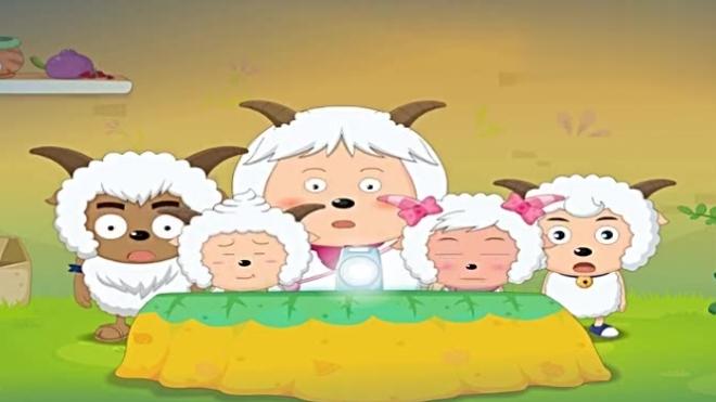 喜羊羊与灰太狼:羊村来了位不速之客,竟然爱偷吃姜饼