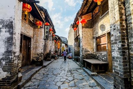 """中国""""最具古代风格""""的村子,超多清明建筑,游客:穿越了?"""