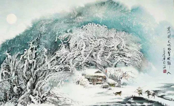 古人描写冬天雪的十首诗词