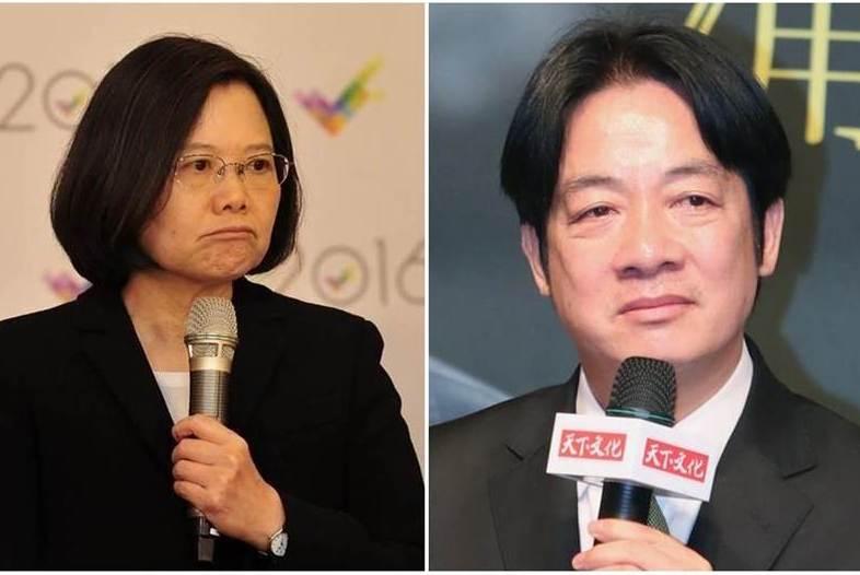 赖清德让蔡英文2020无法连任,台北市议员:比拿刀插她心脏还残忍