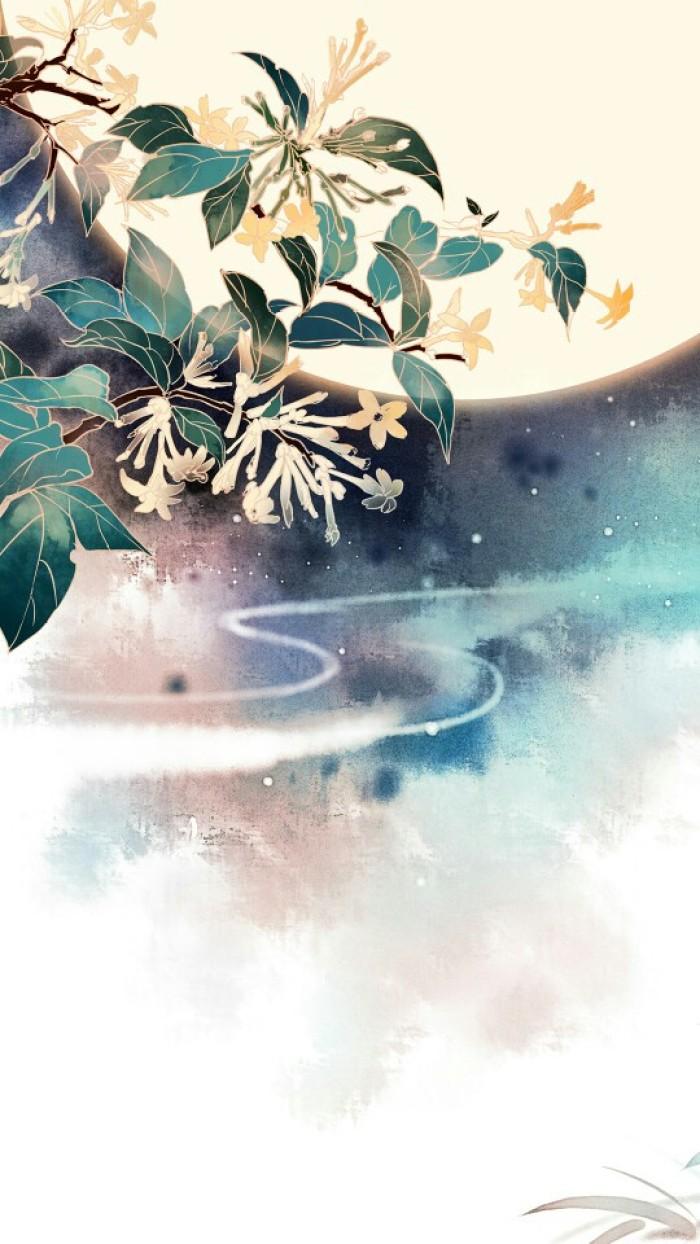 古风手绘人间绝色美图壁纸,他日云端如相见,请君江南扫落花!