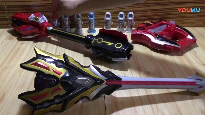 暗色模玩:捷德奥特曼王者之剑x终极升华器x银河奥特曼银河火花,万代系列