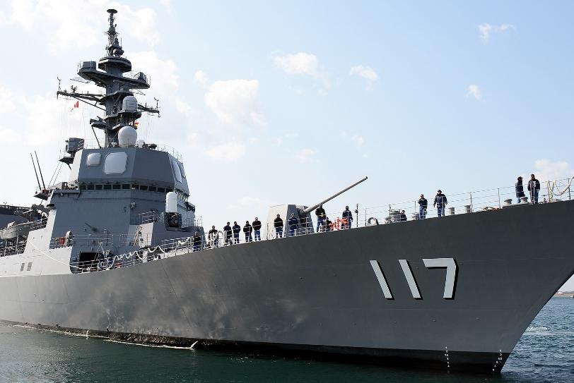 确定了!时隔7年日本海上自卫队将派它来中国,日本举动耐人寻味
