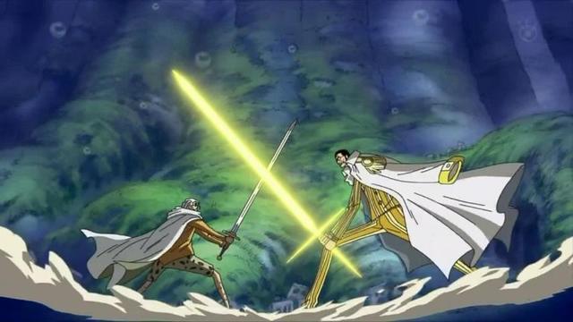 海贼王:盘点动漫中出现的拳皇和剑皇,吃了恶魔果实