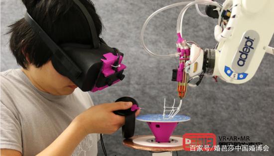 AR机器人的结合缩小了设计和制造之间的过程