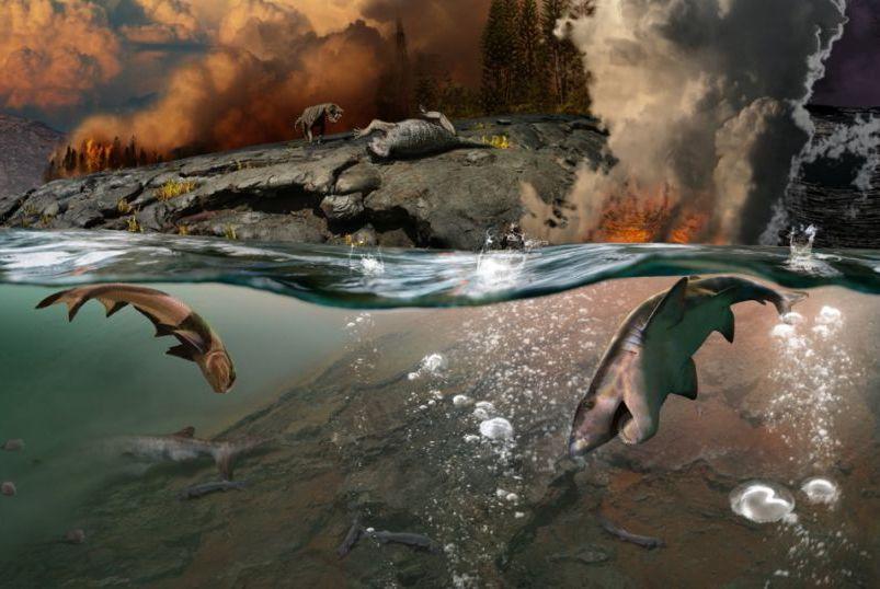 差点毁灭地球的二叠纪末大灭绝持续了多久,为什么来得如此致命?