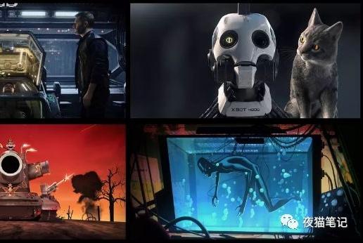 《爱,死亡和机器人》脑洞大,尺度更大的科幻动画!