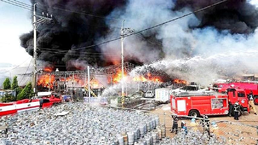 韩国兵工厂再传爆炸声,为何一年内连续发生致命事故?原因揭开