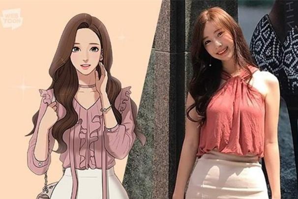 """韩国美女漫画家公布""""本人照片""""!网友:照着漫画女主整容的吧?"""