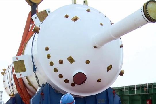"""我国又一核大船亮相,核功率超""""福特""""号,还将批量建造"""