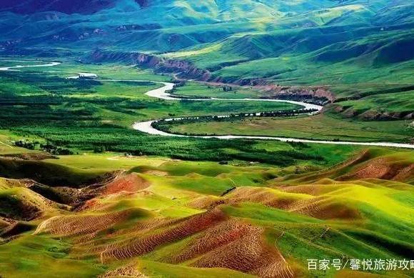 新疆伊犁这一绝景,景色美的无法无天!