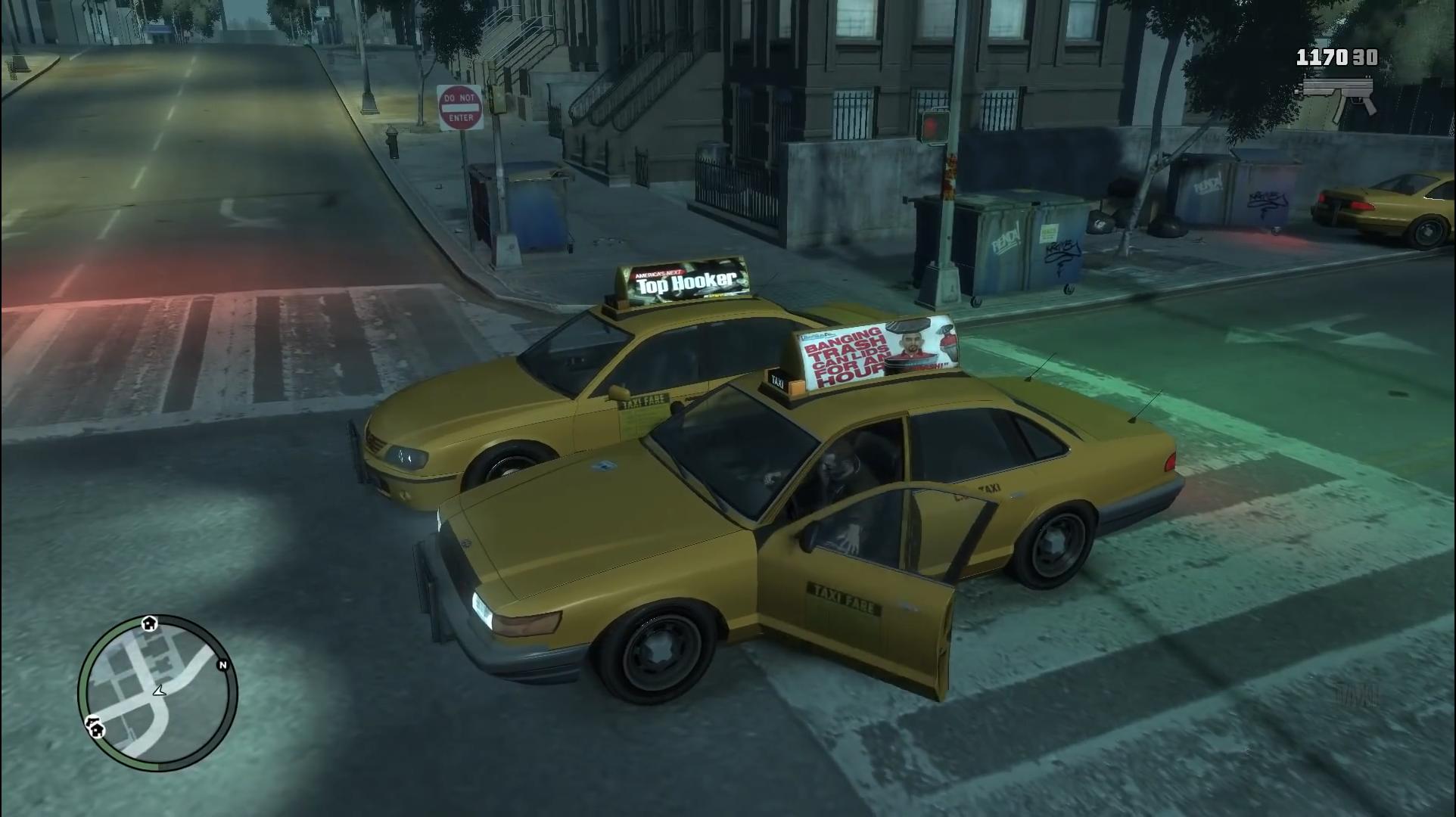 gta游戏发展史:各代出租车驾驶对比还是gta5中的司机