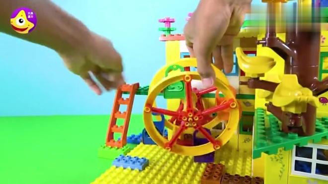 小猪佩奇儿童娱乐城堡 魔法乐高益智游乐园
