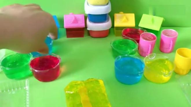 小猪佩奇第四季小猪佩奇手工制作果冻冰淇淋儿童早教玩具视频全集