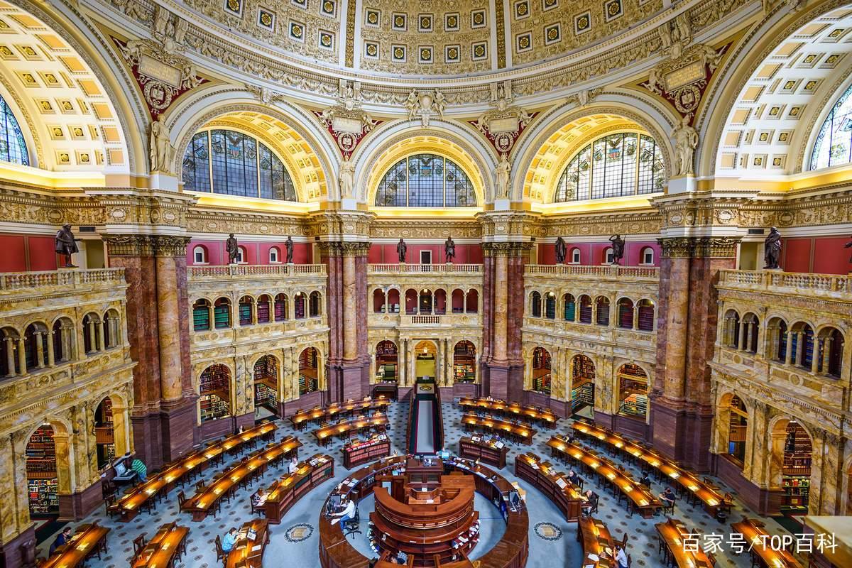 美国国会图书馆位于华盛顿,是美国国会的附属图书馆,它是目前世界上最