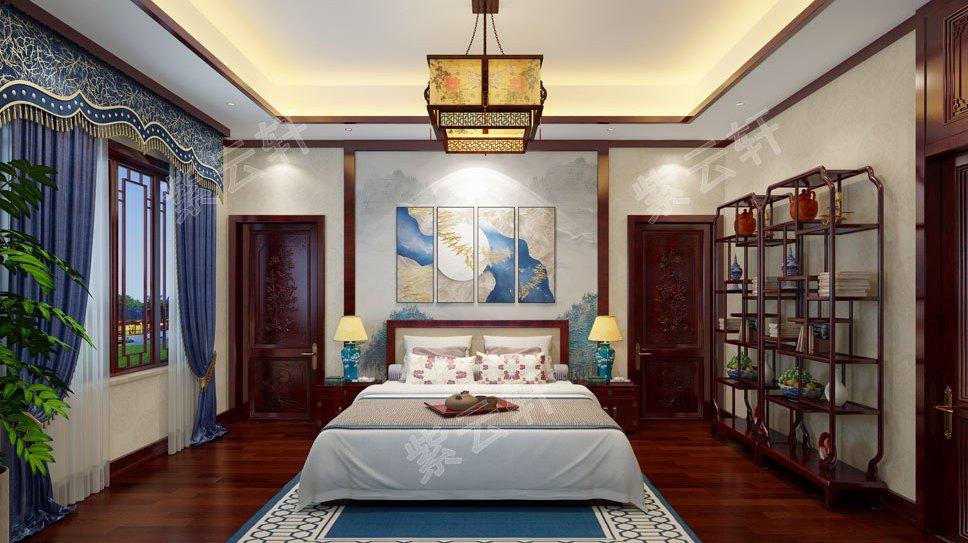 2层300㎡别墅中式装修,豪宅何止是面积大