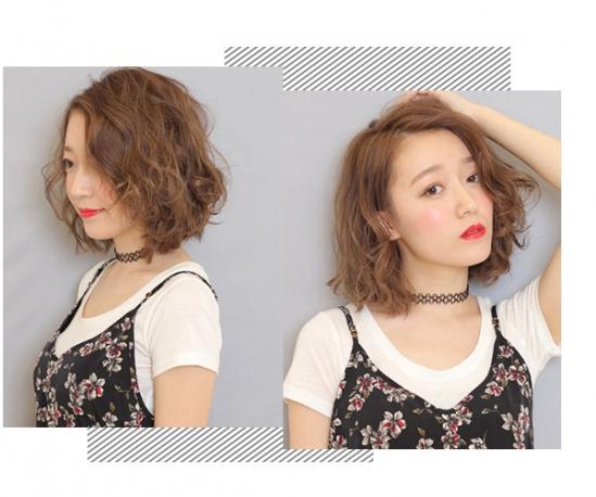 简约款中长发发型,把设计成内扣可完美修颜,头发质感柔顺有光泽,发尾