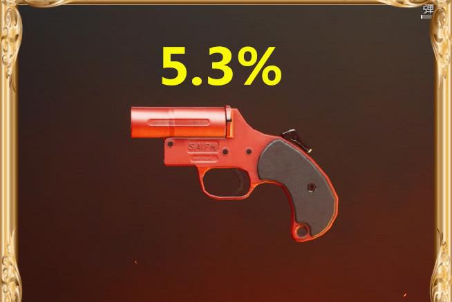 """官方公布枪械丢弃率排名,信号枪""""最低"""",图5每位玩家都丢弃!"""